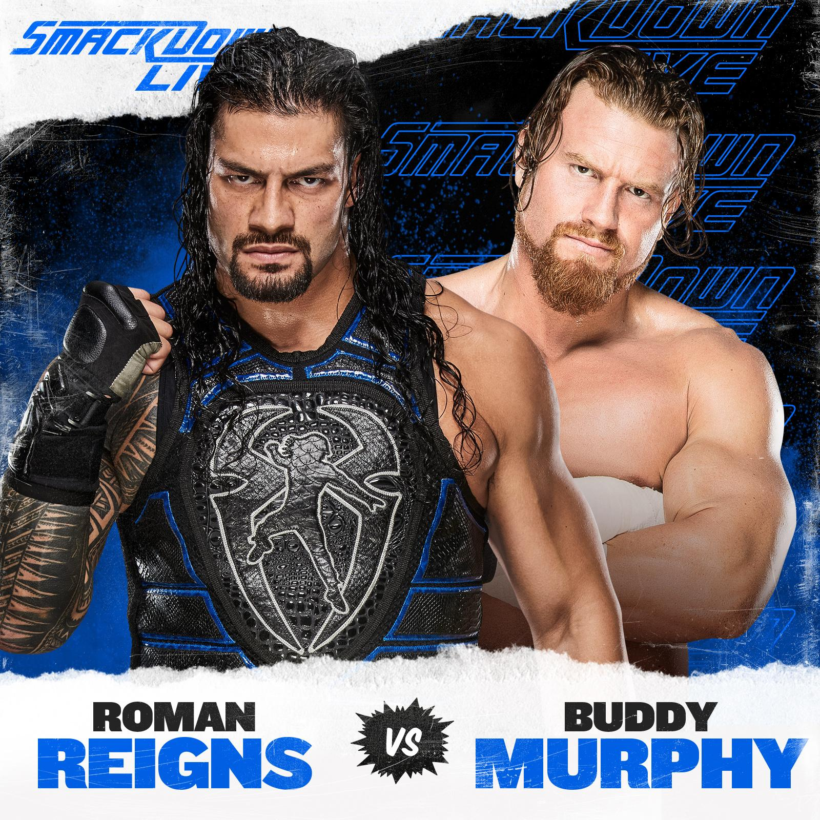 Roman Reigns vs Buddy Murphy