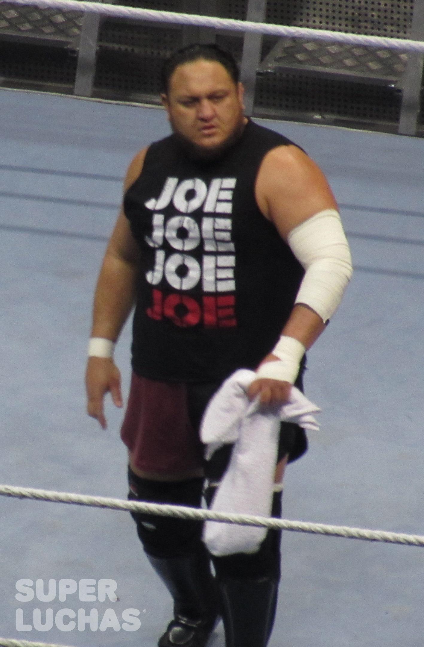 Samoa Joe en el WWE Live! Bogotá, Colombia desde el Movistar Arena (23 de agosto de 2019) / William Beltrán / Superluchas.com / WWE / SÚPER LUCHAS