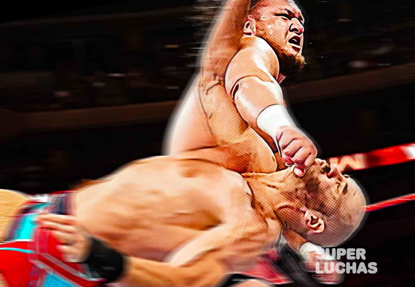 Samoa Joe vs Cesaro