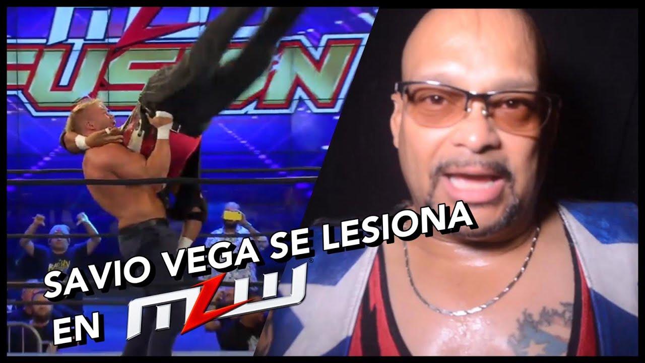 """Savio Vega: """"Las piernas chocaron contra la lona y no pude sacarlas a tiempo"""" 3"""