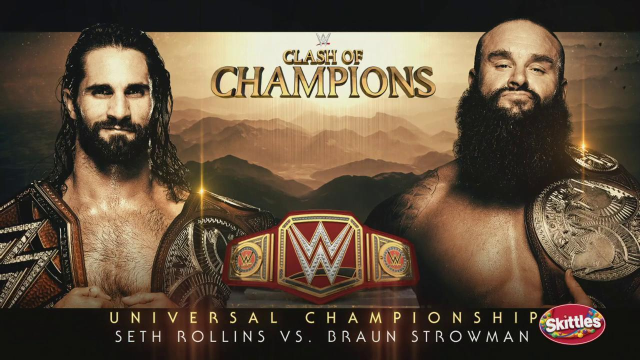 ¿Amigos o enemigos? Seth Rollins vs Braun Strowman para Clash of Champions 2019 26