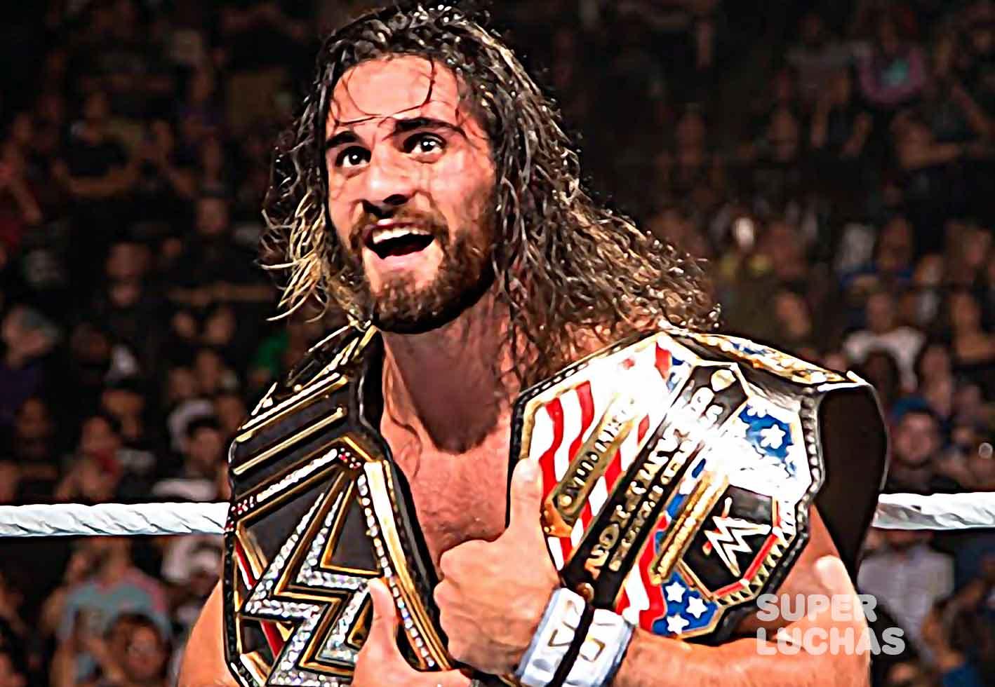 Seth Rollins doble campeón