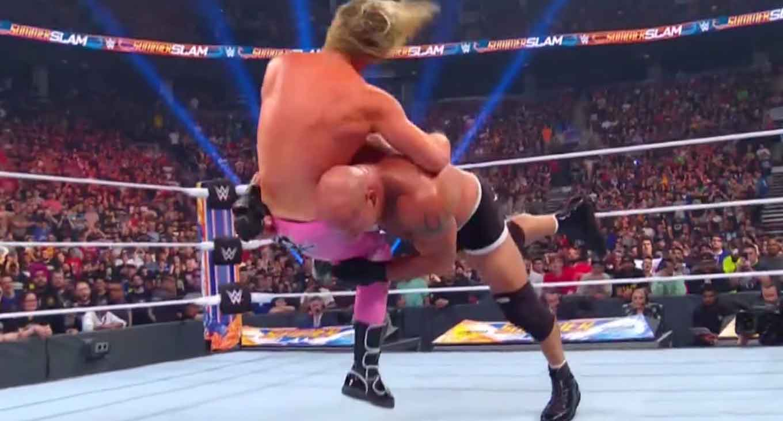 Goldberg vs. Dolph Ziggler