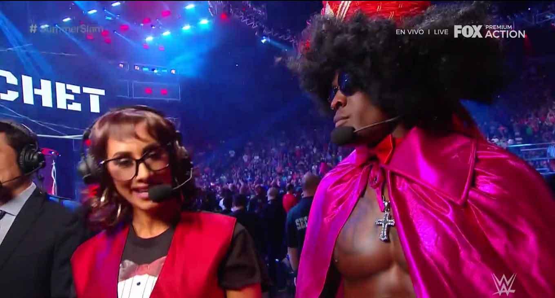 WWE SUMMERSLAM (11 de agosto 2019) | Resultados en vivo | Lesnar vs. Rollins 26