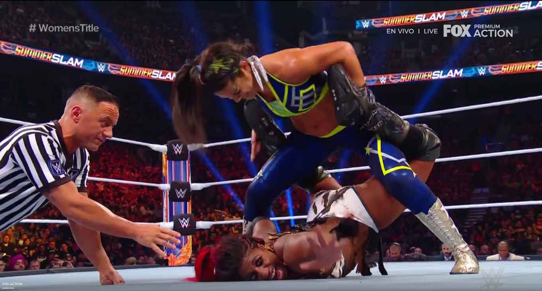 WWE SUMMERSLAM (11 de agosto 2019) | Resultados en vivo | Lesnar vs. Rollins 34