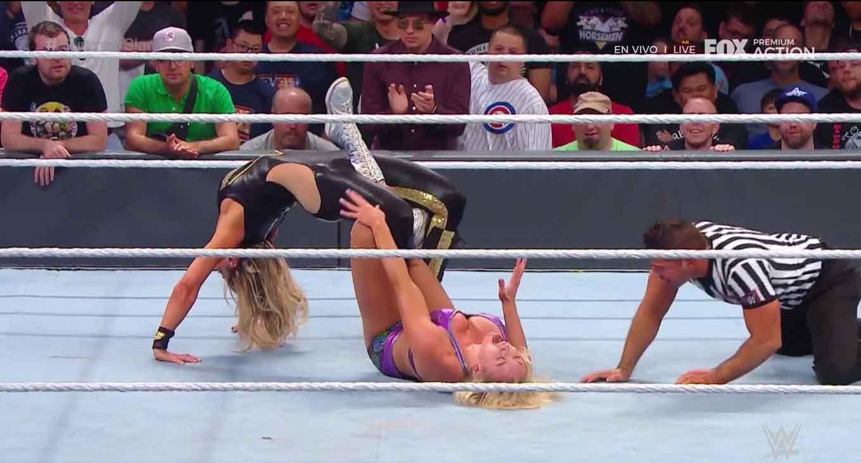 WWE SUMMERSLAM (11 de agosto 2019) | Resultados en vivo | Lesnar vs. Rollins 47