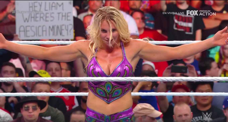 WWE SUMMERSLAM (11 de agosto 2019) | Resultados en vivo | Lesnar vs. Rollins 50