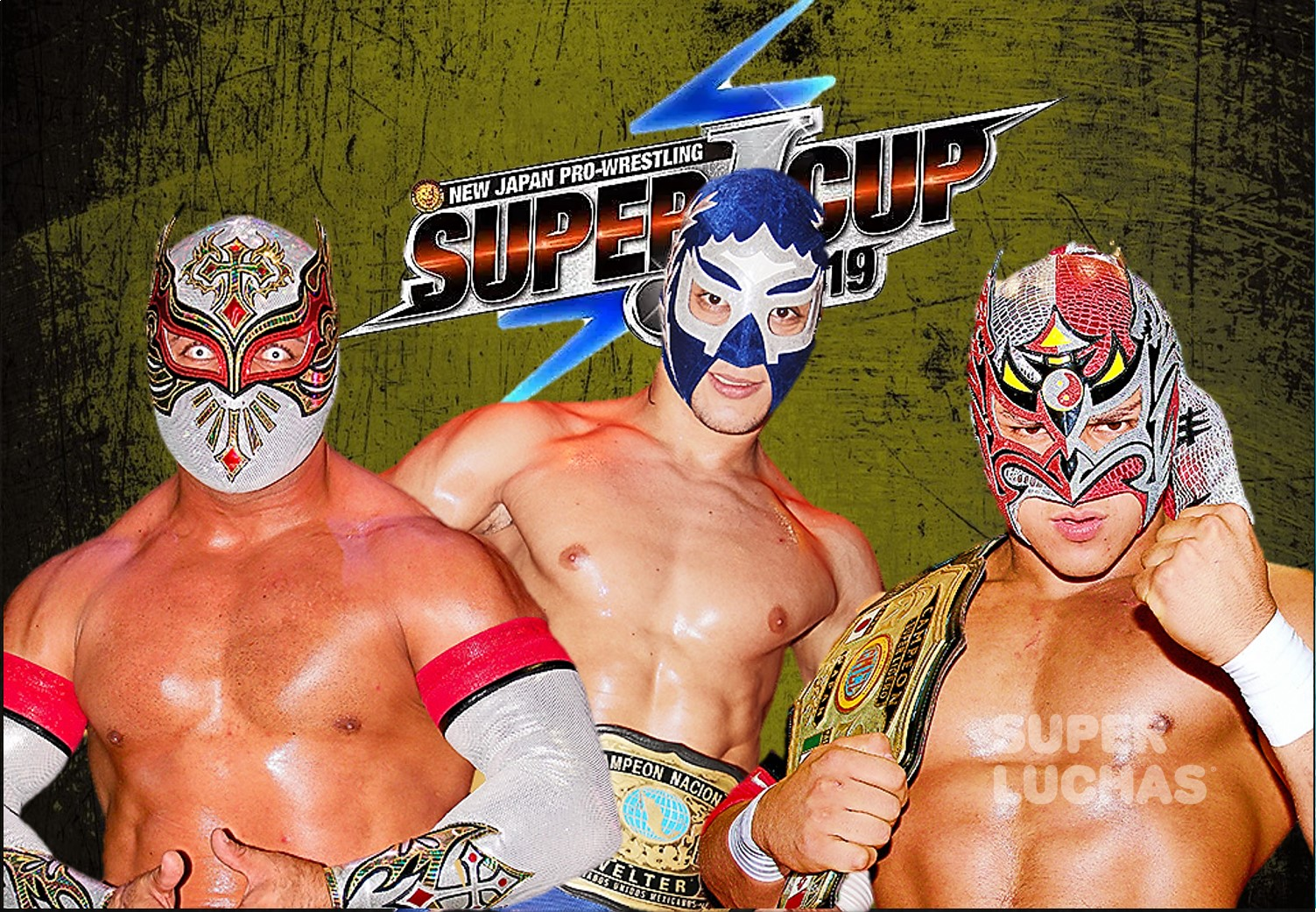 """NJPW: """"Super J-Cup 2019"""" Avanzan los mexicanos 1"""