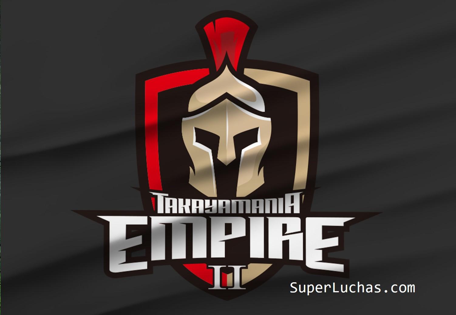 """Listo cartel de """"Takayamania Empire 2"""" apoyando a Yoshihiro Takayama 7"""