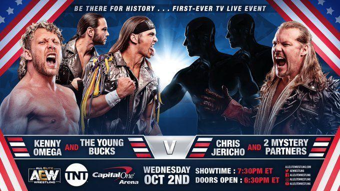 LAX serían los compañeros sorpresa de Jericho en AEW 1