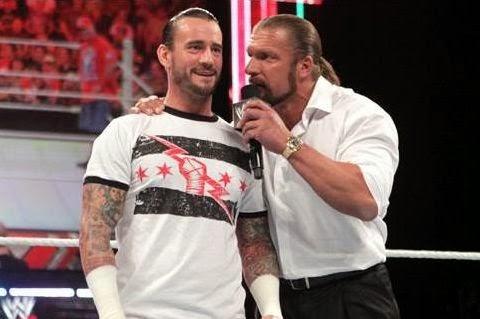 Triple H vs CM Punk