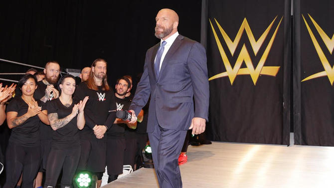 Triple H, líder de NXT - WWE