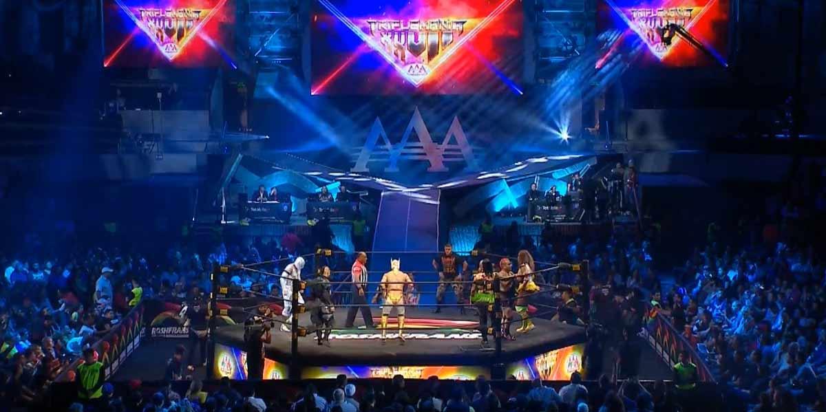 AAA TRIPLEMANÍA XXVII (3 de agosto 2019) | Resultados en vivo | Demon vs. Wagner 10