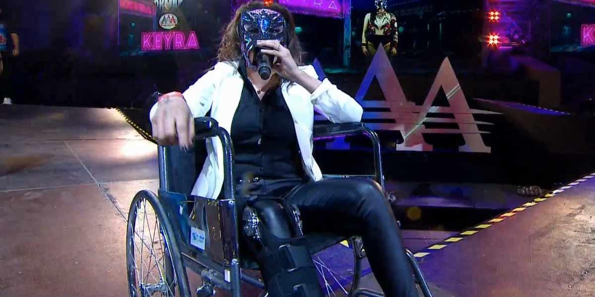 AAA TRIPLEMANÍA XXVII (3 de agosto 2019) | Resultados en vivo | Demon vs. Wagner 16