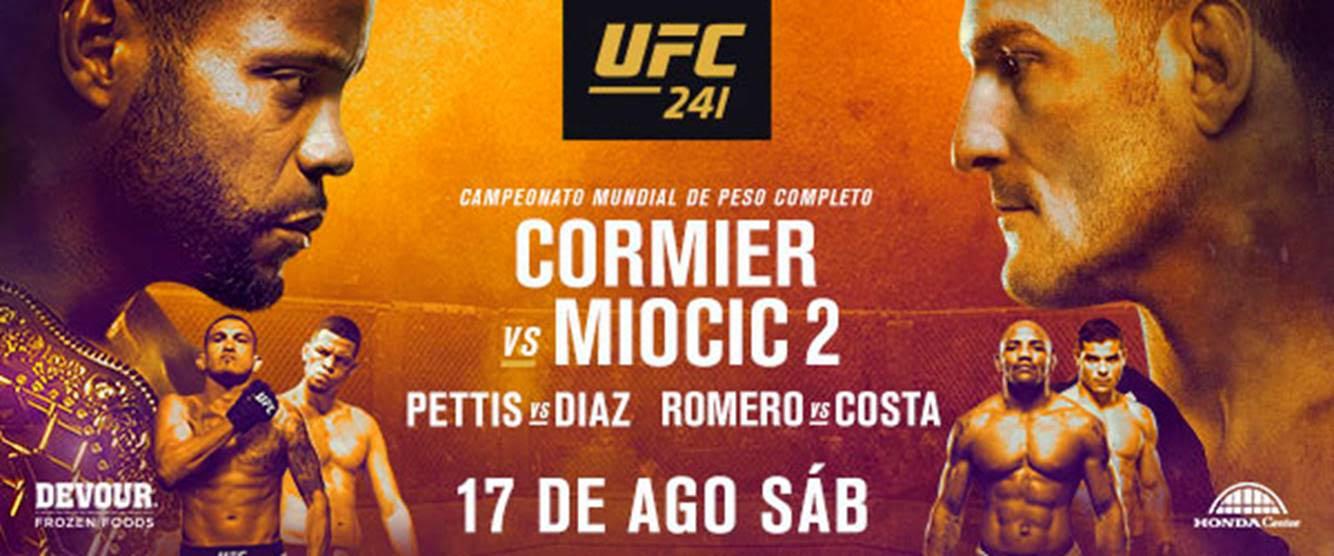 Todo listo para UFC 241: Daniel Cormier vs. Stipe Miocic II 1