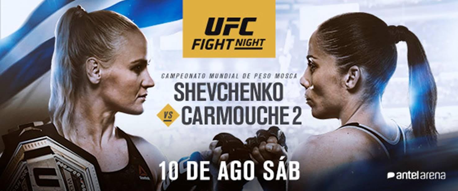 Reacciones a la victoria de Shevchenko en UFC Uruguay 3
