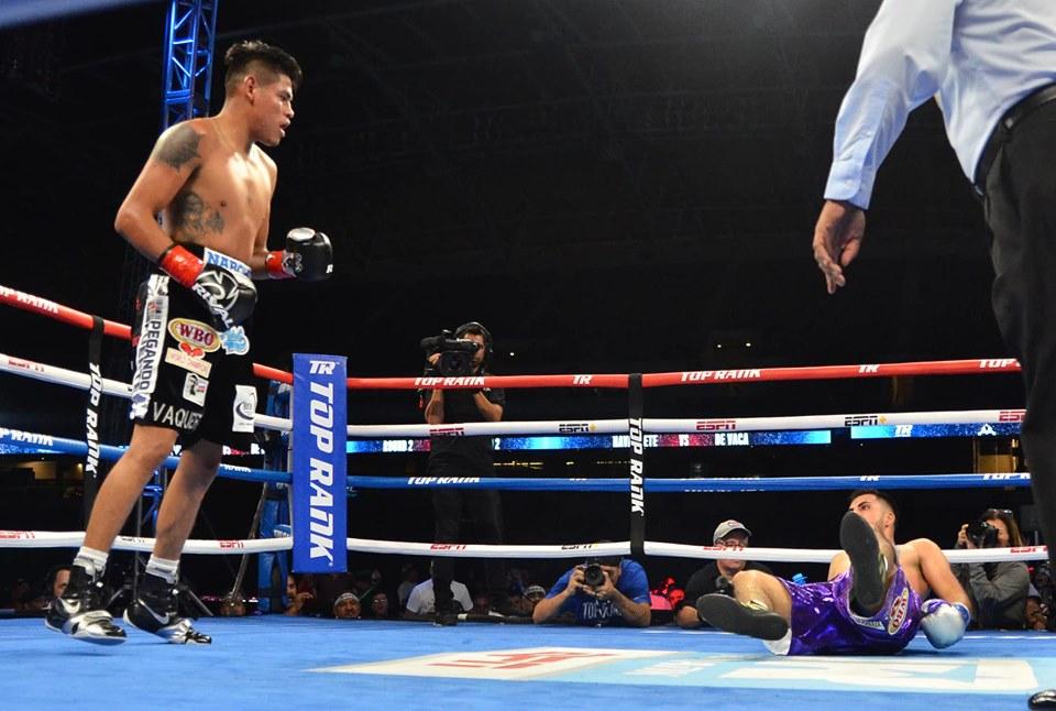 Vaquero Navarrete noqueó a De Vaca en 3 rounds 4