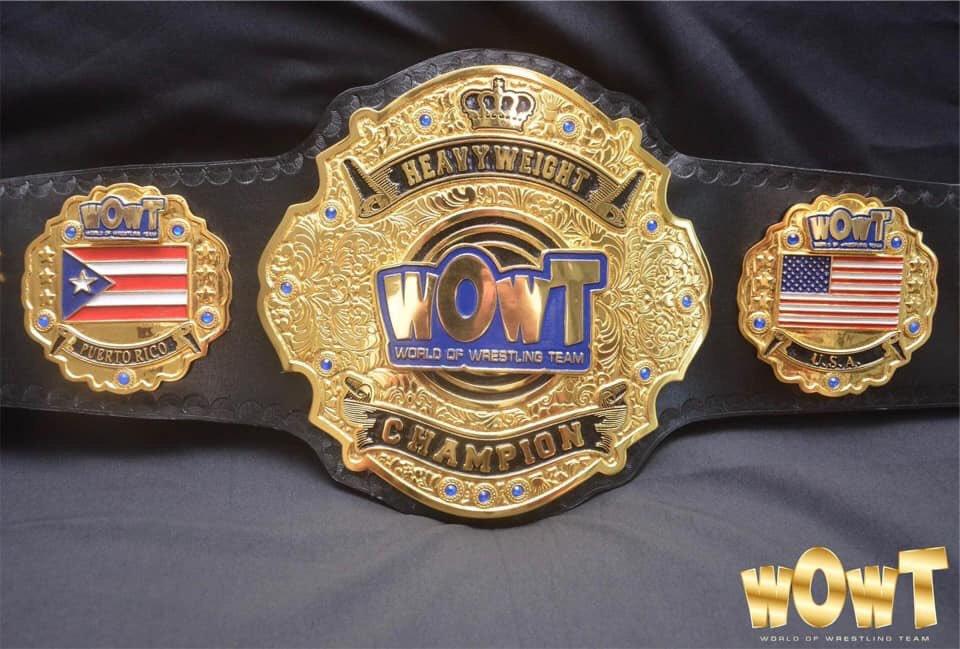 Encuentro entre Super Crazy vs Bandolero por el Campeonato de WOWT en Chicago 1
