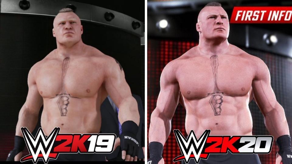El primer teaser del videojuego WWE 2K20 tiene detalles interesante 1