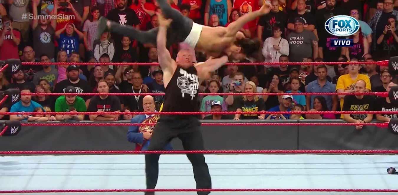 WWE RAW (5 de agosto 2019) | Resultados en vivo | A seis días de SummerSlam 15