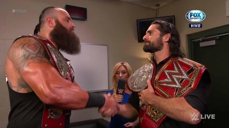 WWE RAW (26 de agosto 2019) | Resultados en vivo | Rollins-Strowman, frágil alianza 8