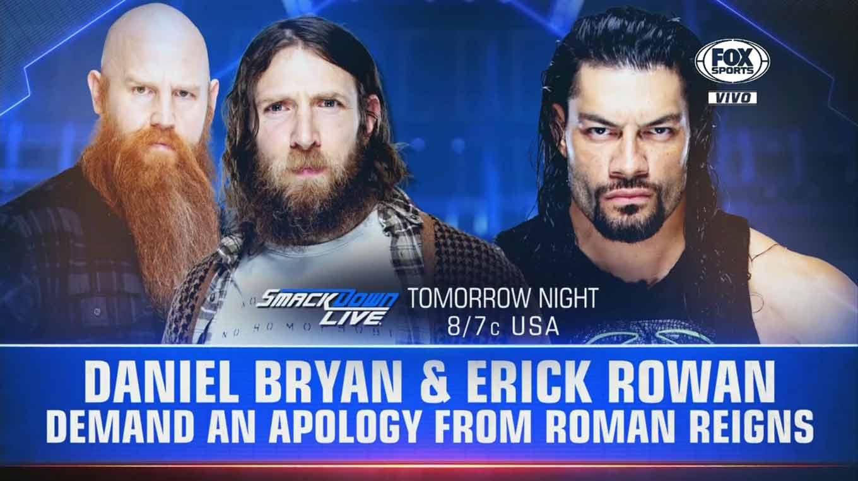 WWE RAW (26 de agosto 2019) | Resultados en vivo | Rollins-Strowman, frágil alianza 23