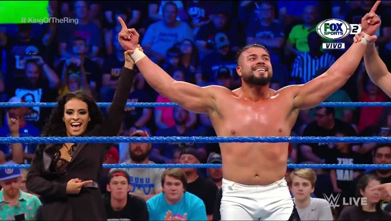 Andrade y Elias avanzan en el torneo King of the Ring 4