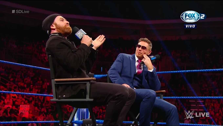WWE SMACKDOWN LIVE (20 de agosto 2019) | Resultados en vivo | Daniel Bryan vs. Buddy Murphy 26
