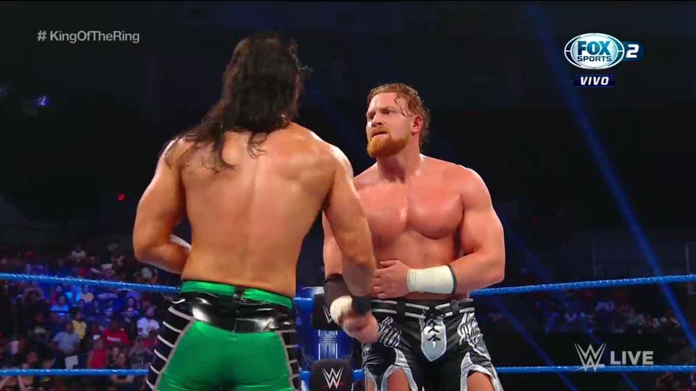 """WWE SMACKDOWN LIVE (27 de agosto 2019)   Resultados en vivo   """"¡Discúlpate, Roman Reigns!"""" 10"""