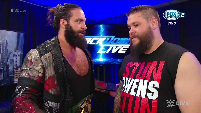 """WWE SMACKDOWN LIVE (27 de agosto 2019)   Resultados en vivo   """"¡Discúlpate, Roman Reigns!"""" 15"""