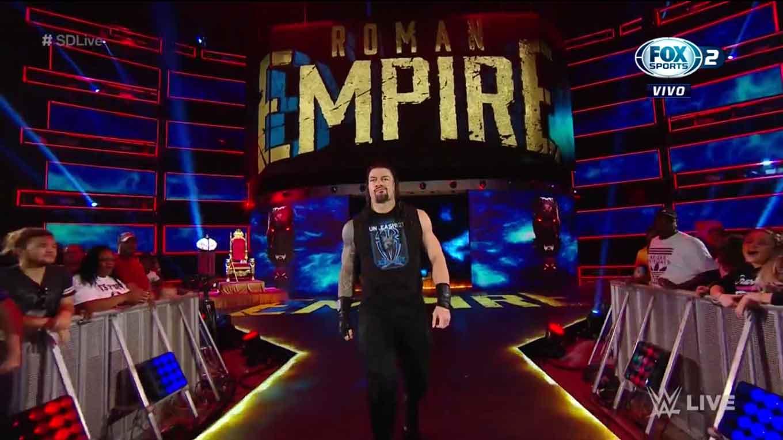 """WWE SMACKDOWN LIVE (27 de agosto 2019)   Resultados en vivo   """"¡Discúlpate, Roman Reigns!"""" 33"""