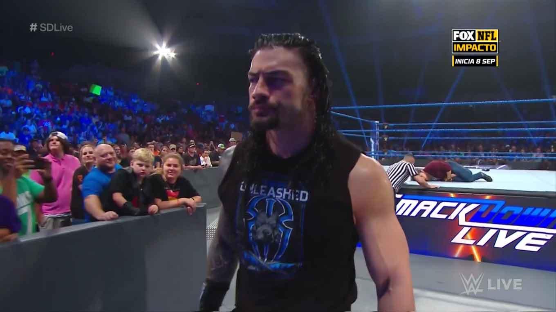 """WWE SMACKDOWN LIVE (27 de agosto 2019)   Resultados en vivo   """"¡Discúlpate, Roman Reigns!"""" 37"""