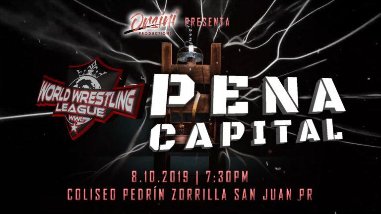 Cartel para Pena Capital este Sábado 10 en San Juan - ¡LAX de regreso a Puerto Rico! 1