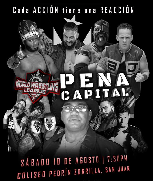 Cartel para Pena Capital este Sábado 10 en San Juan - ¡LAX de regreso a Puerto Rico! 3
