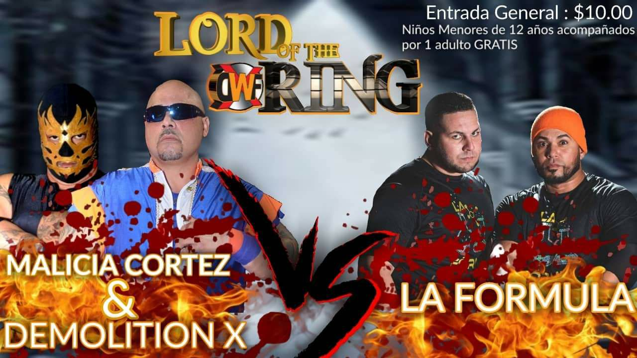 XDWF presenta Lord of the Ring el 24 de Agosto en Camuy - Savio Vega en Acción 2
