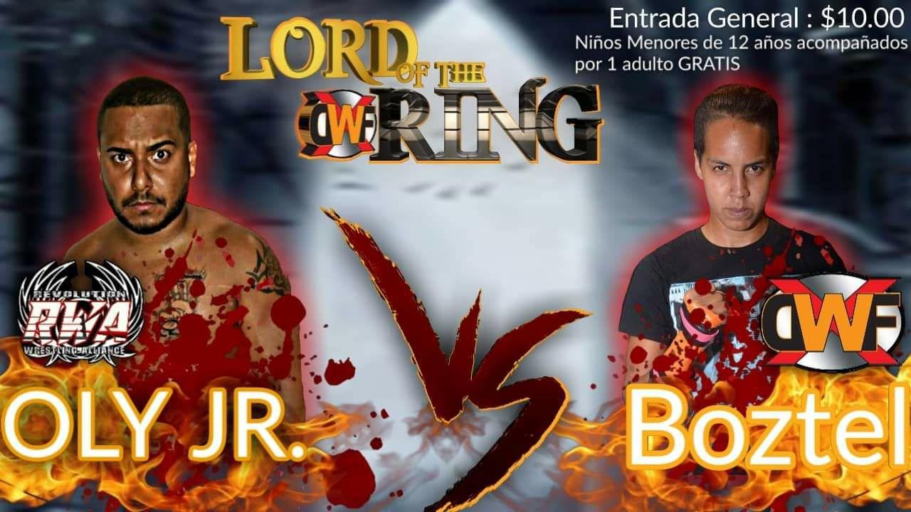 XDWF presenta Lord of the Ring el 24 de Agosto en Camuy - Savio Vega en Acción 3