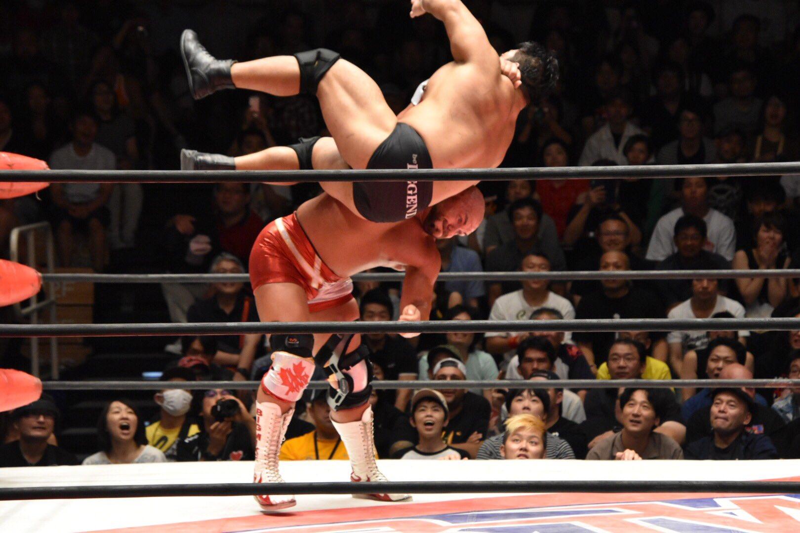 BJW: Michael Elgin regresó a Japón doblegando a Daisuke Sekimoto 1