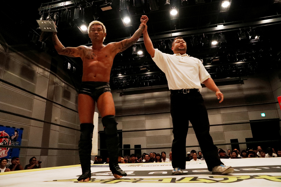 "DDT: ""Cry to the Fire! 2019! 2019"" Yukio Sakaguchi tras un título 7"