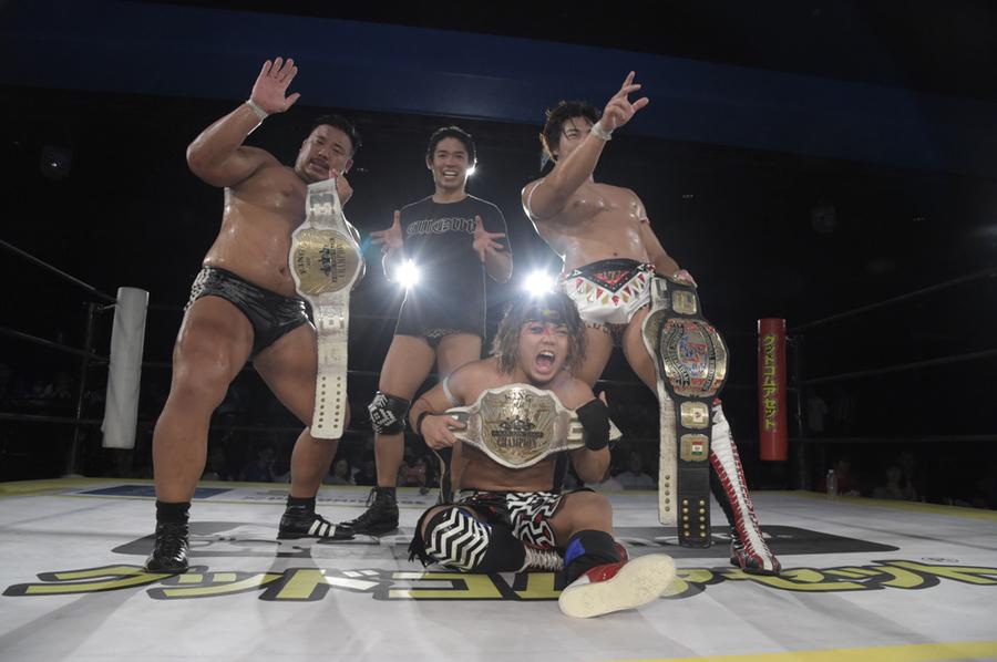 "DDT: ""Fighting Beer Garden 2019"" All Out retiene título de tercias 23"