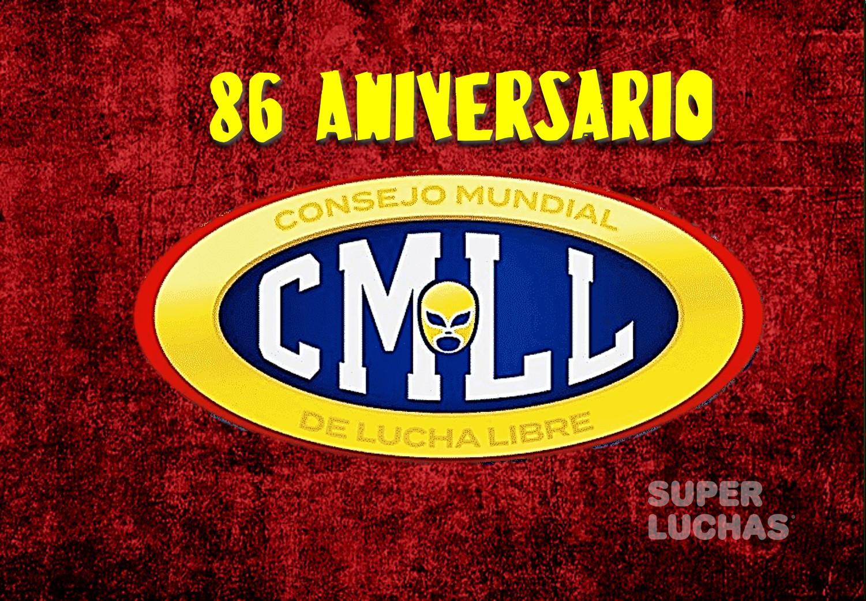 CMLL: Definida la fecha para el 86 Aniversario 2