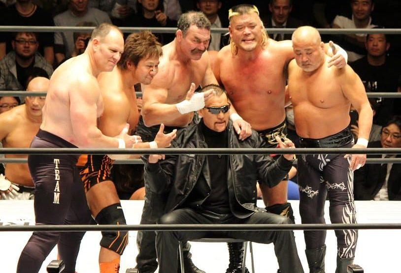 "Keiji Mutoh Produce: ""Pro Wrestling Masters"" Don Frye vuelve a Japón 1"