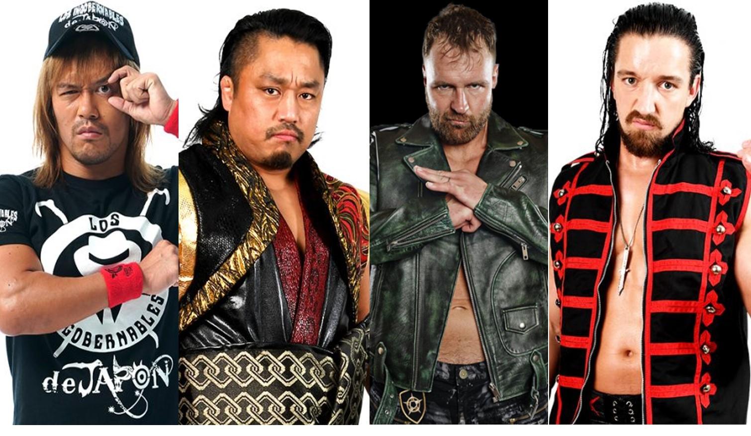 """NJPW: """"G1 Climax 29"""" Día 16 Moxley, Naito, Goto y White, empatados 6"""