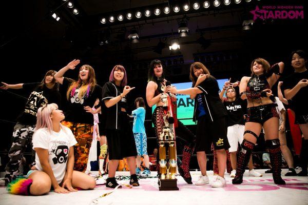 "Stardom: ""Stardom X Stardom 2019"" 4 títulos en juego, Riho se corona 1"