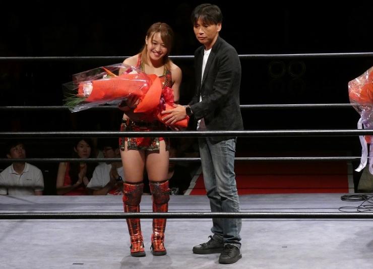 "Syuri Produce: ""Tadaima"" Syuri regresó a la lucha libre 2"