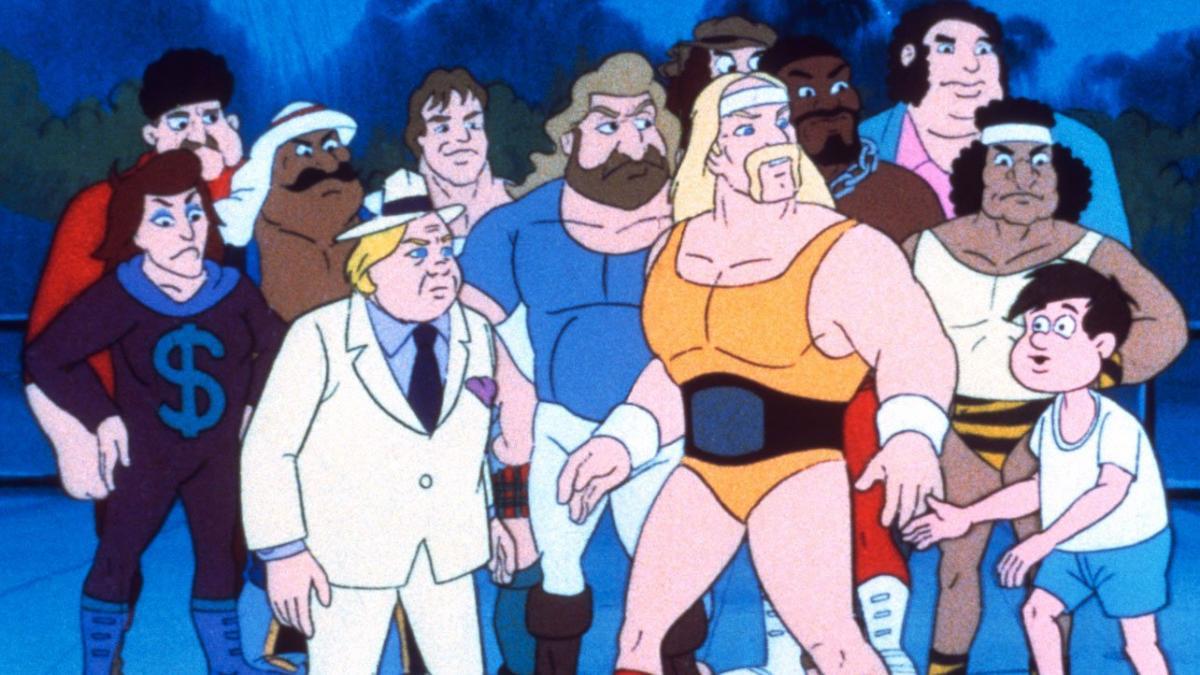 La maldición de ser un dibujo animado junto a Hulk Hogan