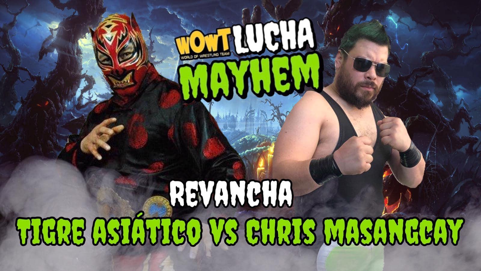 Dos encuentros confirmados para Lucha Mayhem en Chicago 3