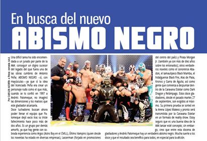 El eterno Abismo Negro regresa ─ AAA debuta al Junior 2