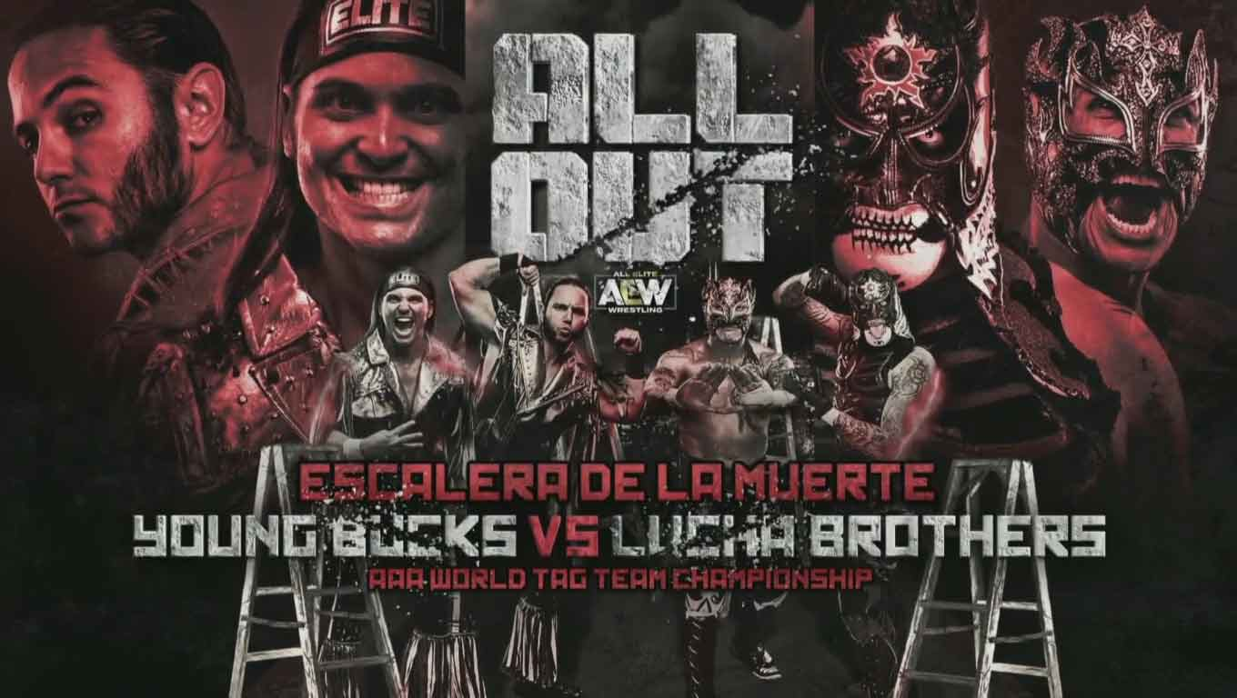Lucha Brothers (Pentagón Jr. y Rey Fénix) (c) vs. The Young Bucks (Matt Jackson y Nick Jackson)