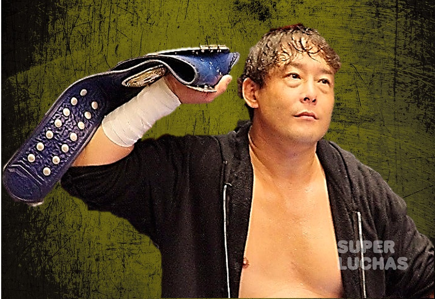 "BJW: ""Big Japan Yokohama Radiant Hall"" TAJIRI doblegó a Great Kojika 2"