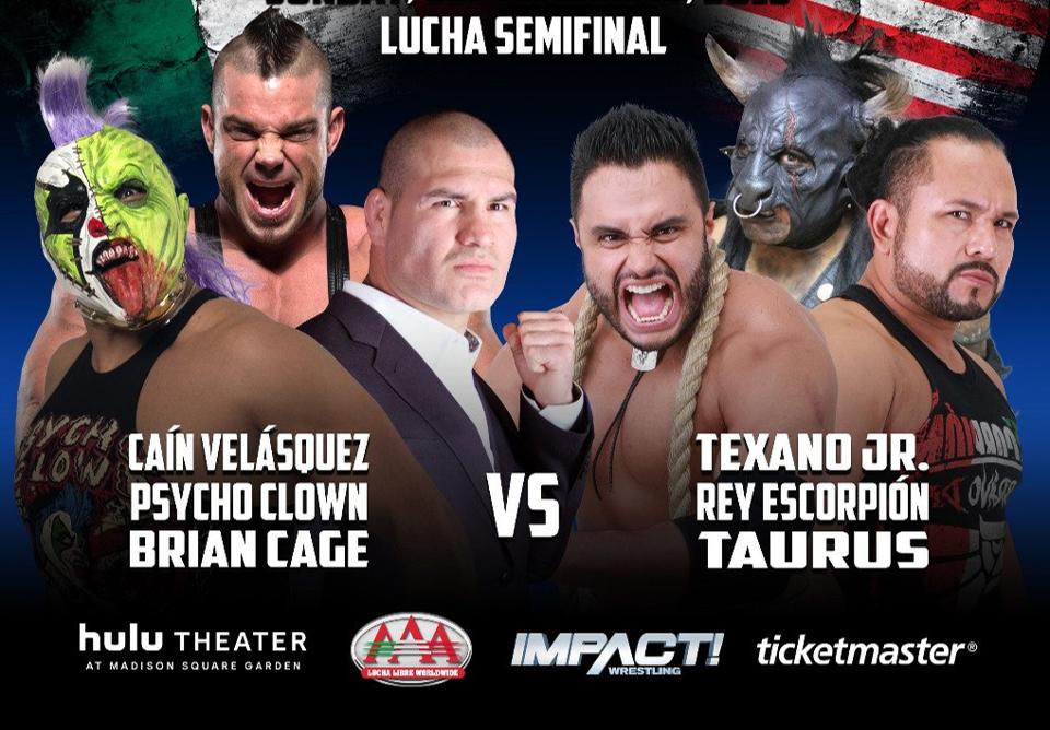 """AAA: Definida lucha de Caín Velásquez en """"Invading NY"""" y otro duelo más 13"""